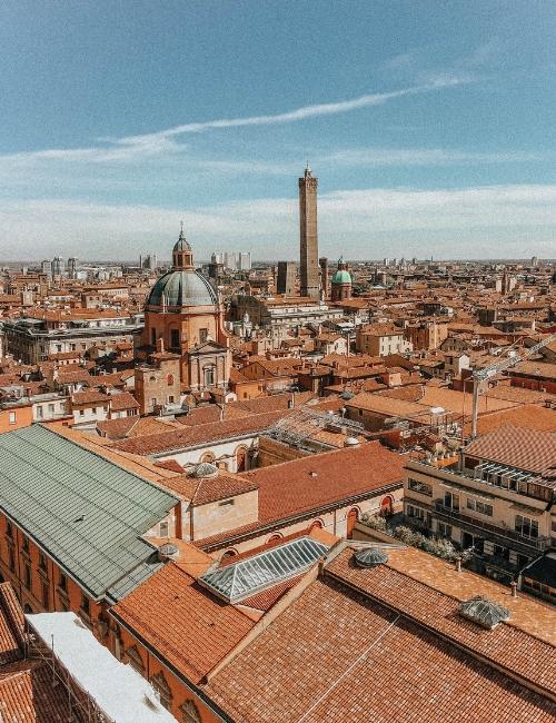 Bologna, vista dalla Basilica di San Petronio