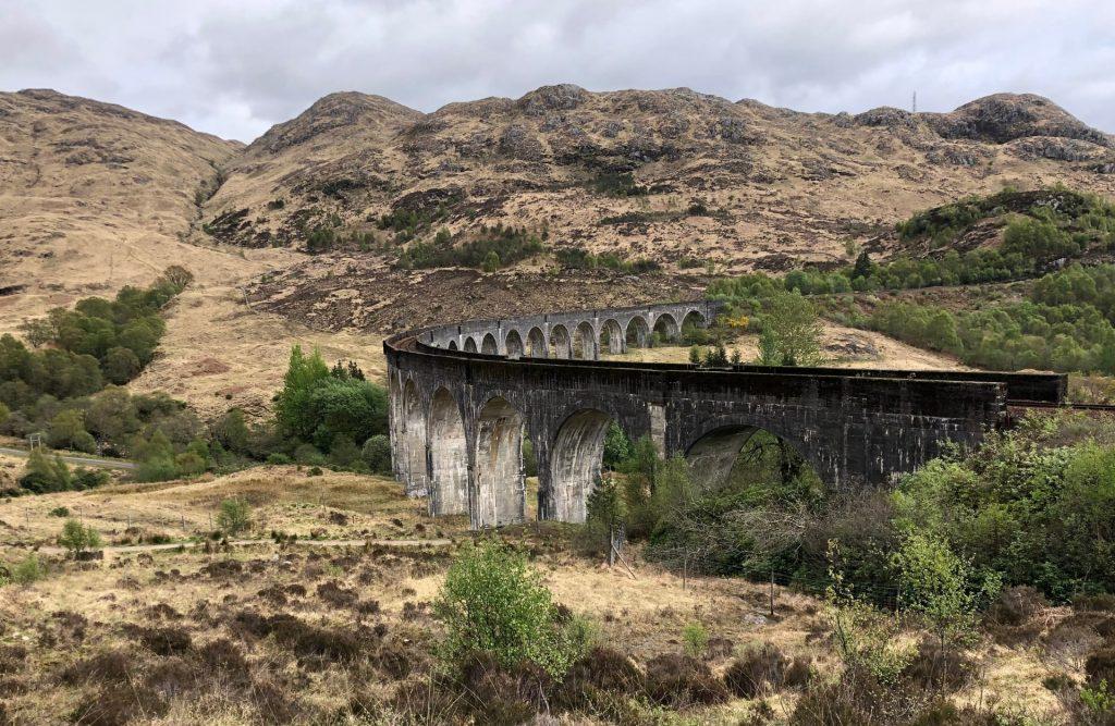 Scozia Glenfinnan Viaduct Ponte Harry Potter