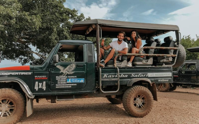 Uda Walawe safari jeep