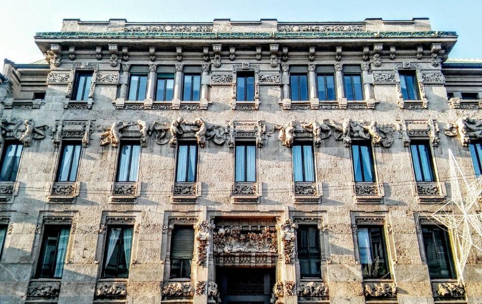 palazzo castiglioni milano